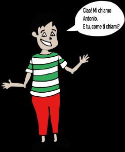 Antonio-jak przedstawić się powłosku