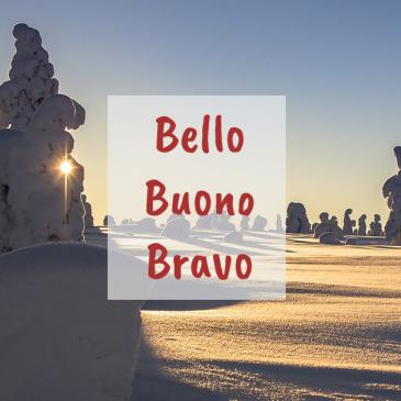 Bello, buono, bravo – jaka jest różnica?