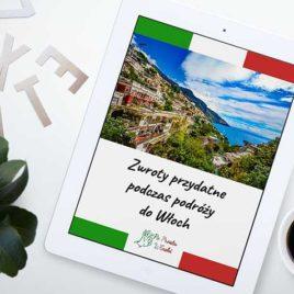 Zwroty przydatne podczas podróży do Włoch