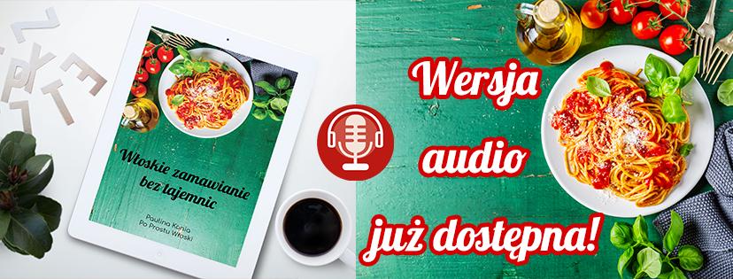 wersja audio włoskie zamawianie beztajemnic