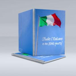 kołozeszyt z motywem włoskim