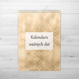 Złoty kalendarz ważnych dat