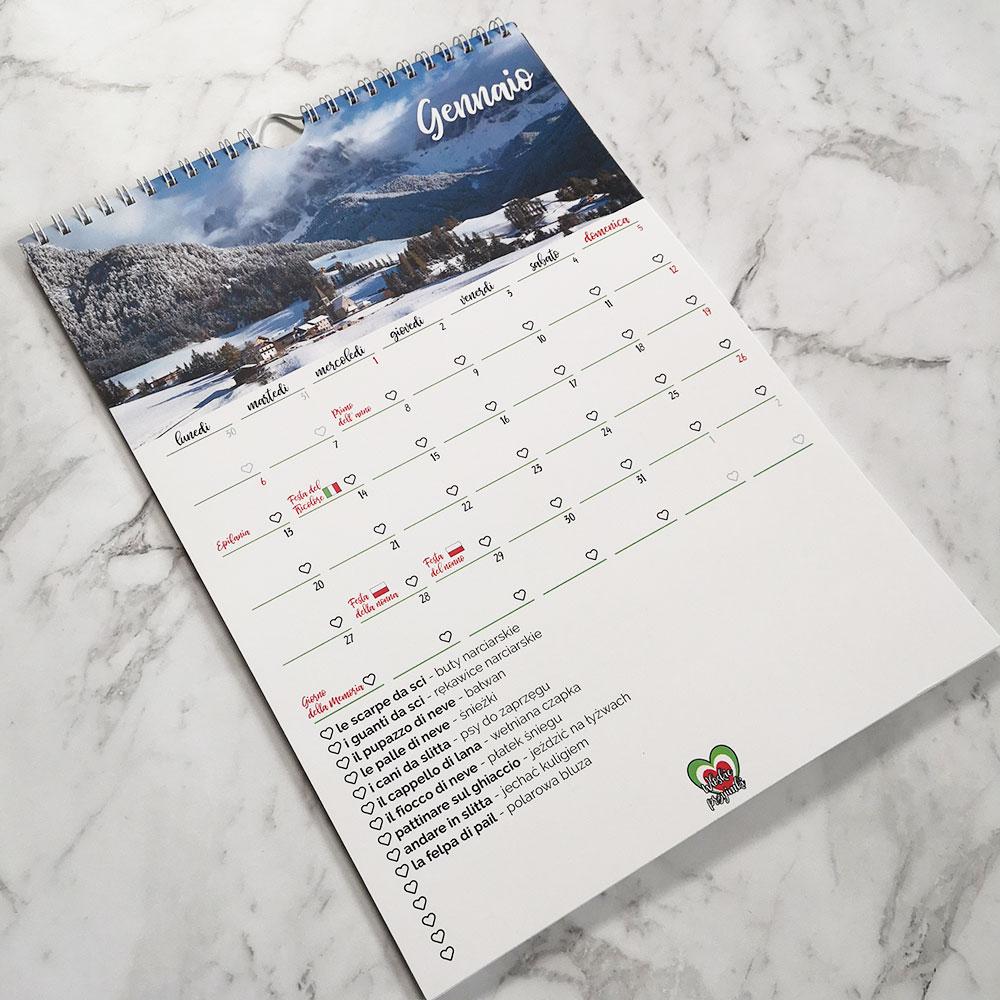 kalendarz przyimkowy przykładowy miesiąc