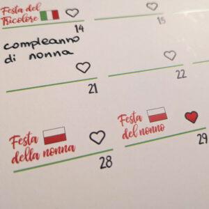 kalendarz przyimkowy oznaczenie świąt