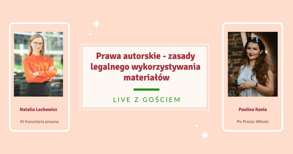 Prawa autorskie - zasady legalnego wykorzystywania materiałów